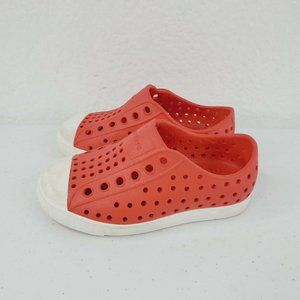 Native Toddler Baby White Red Water Resistant